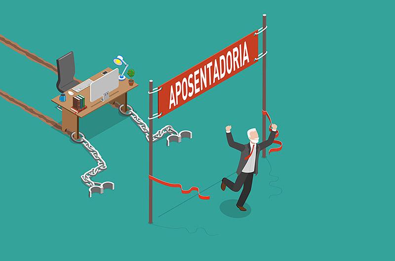 modelo mental dominante, aposentadoria
