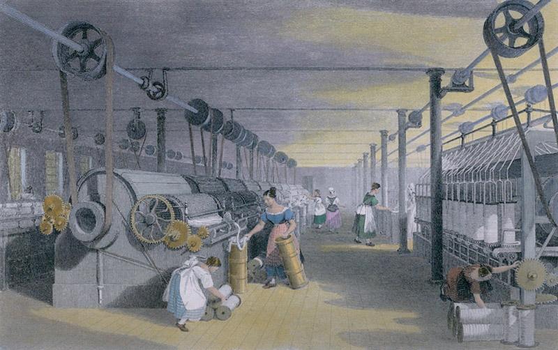 modelo mental dominante, revolução industrial